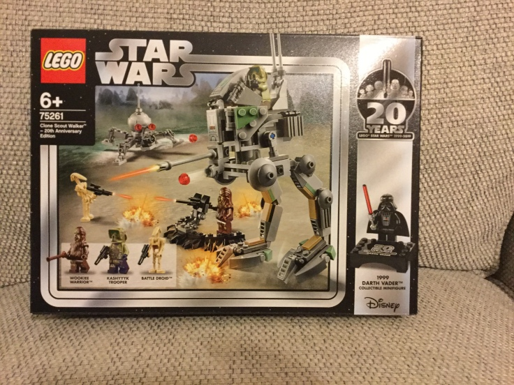 Collection Corner 20th Anniversary Clone Scout Walker My Star Wars Life Debt